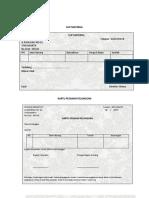 Slip Material Dan Kartu Pesanan Pelanggan