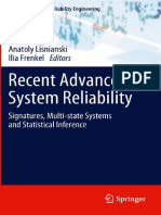 BOOK - N. Balakrishnan - Anatoly Lisnianski, Ilia Frenkel Eds. Recent Advances in System Reliability Signatures - Reliability Engineering - Springer