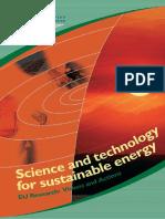 EC2003 Sustainable Energy