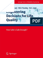 BOOK - J. S. Nathwani, N. C. Lind, M. D. Pandey Auth. Engineering Decisions for Life Quality How Safe is Safe Enough- - Reliability Engineering - Springer