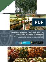 Lineamientos Nacionales Frutas Verduras