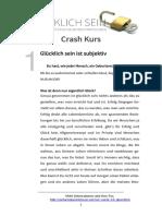 einfachgluecklichsein.net - Crash Kurs