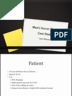 mens soccer case study