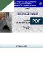 Rock Mechanics Class 2016-i
