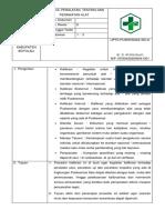 SPO Kontrol Peralatan_testing Dan Perawatan Secara Rutin