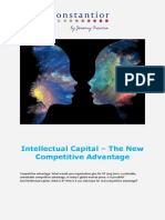 Intellectual Capital - The New Competitive Advantage