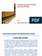 Tugas Tanggung Jawab Hukum Akuntan Publik