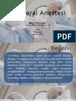 Anestesi General