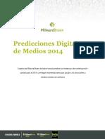 Predicciones Digitales y de Medios 2014