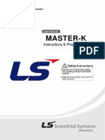 LG Master K200S Instruction