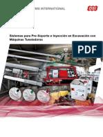 DSI Tunneling Sistemas Para Pre Soporte e Inyeccion en Excavacion Con Maquinas Integrales La 01