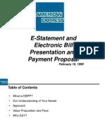 EBPP Proposal Ver6 (AMEX)