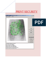 Finger Print Security