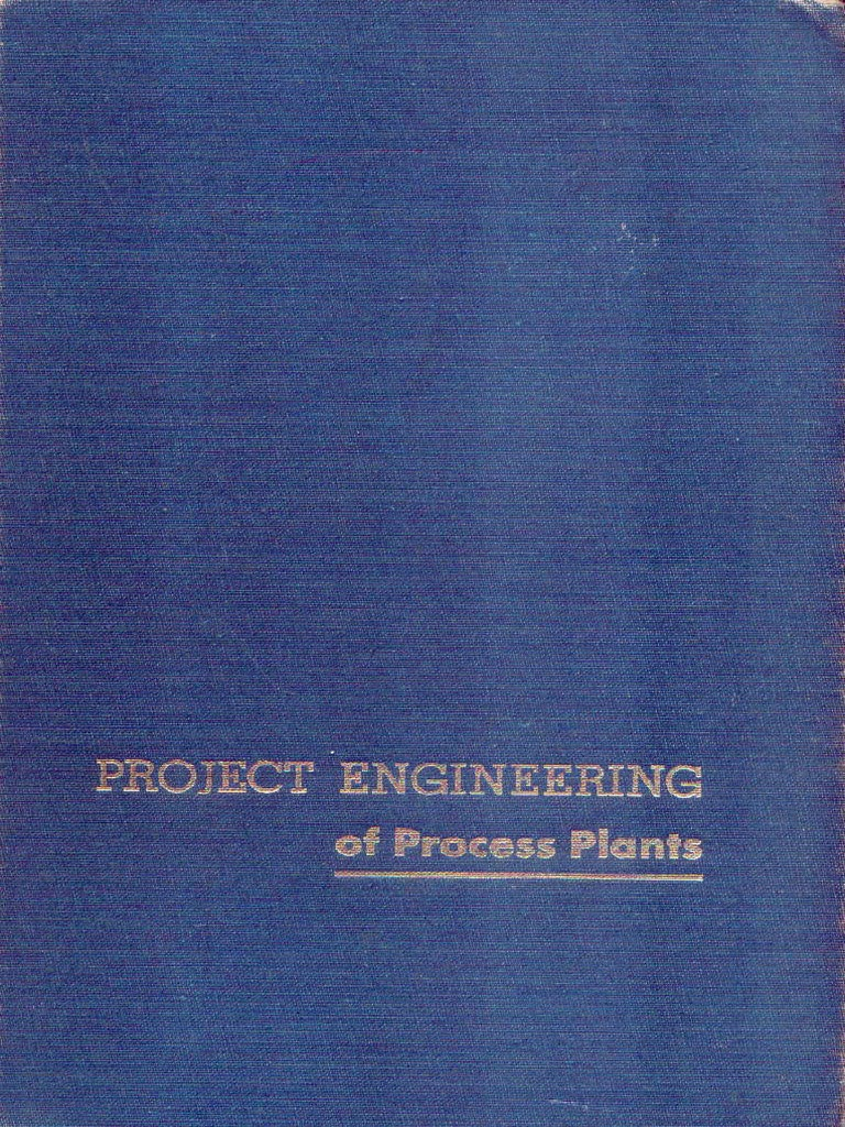 Project Engineering of Process Plants.pdf | Cargo | Rail Transport