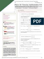 Matemáticas y Física de Ciencias Ambientales UNED. _ Tema 5 Autovalores y Autovectores