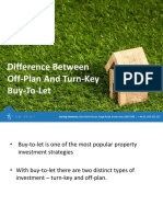 Difference Between Off-Plan and Turn-Key Buy-To-let