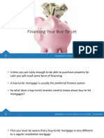 Financing Your Buy-To-let Investment