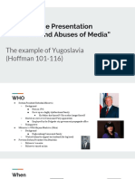 collaborative presentation  yugoslavia