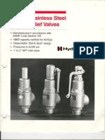 Val AlivioSeguridad NPT - Hydroseal