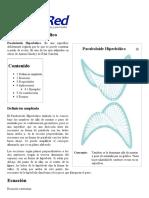 Paraboloide hiperbólico - EcuRed