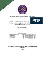 Kerangka Proposal PKM P 2016 140916