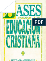 Bases Biblicas Educacion Cristiana