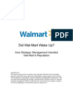 Wal Mart CaseStudy