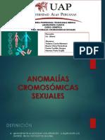 ANOMALÍAS CROMOSÓMICAS SEXUALES