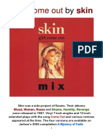 COME OUT (Girl Come Out) by Skin