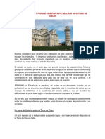 La Torre de Pisa y Porqué Es Importante Realizar Un Estudio de Suelos