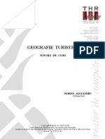 Thr - Geografia Turistica - Suport Curs Mail