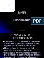 Mmpi - Escalas Clinicas