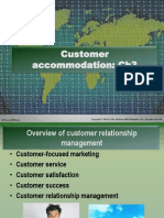 DM——Week 3- Customer Relationship