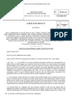Amendement TAXE GAFA au projet de loi de finances pour 2018