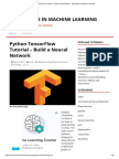 Python TensorFlow Tutorial - Build a Neural Network - Adventures in Machine Learning