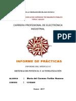 Informe de Practicas Modulo 2 en PROCESO
