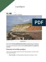 Asentamientpos Tipos de Fallas Geológicas