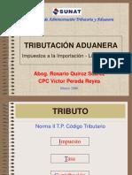 TributacionAduanera