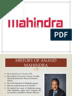 Presentation 1 Mahindra