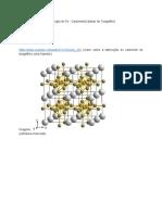 Metalurgia Do Pó - Propriedades do Carbeto de tungstênio
