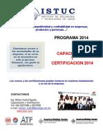 Calendario Certificaciones Aws 2014 Examen API