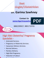 Best Obstetrician/Gynecologist in Gurgaon