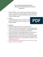 Cronograma de Implementación de Exhortaciones y Recomendaciones Realizadas a La Municipalidad Distrital de Laria