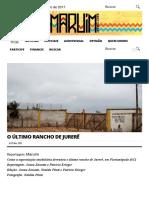 O Último Rancho de Jurerê _ MARUIM