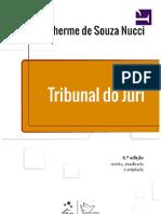 Tribunal Do Júri - Guilherme de Souza Nucci