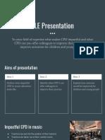SLE Presentation