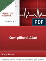 Komplikasi Pada Orang Dengan Penyakit Diabetes Melitus