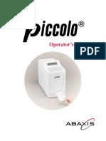Abaxis Piccolo Analyzer - User manual.pdf