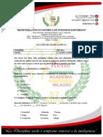 Examen de Legislación 2017 Segundo Nivel