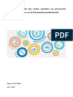 La utilización de las redes sociales en proyectos grupales